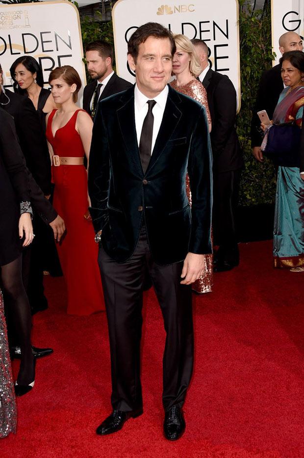 Clive-Owen-golden-globe-awards-2015