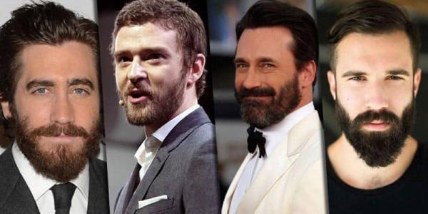 diferentes estilos de barba