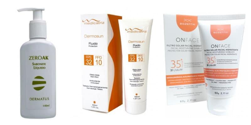 produtos para rosto pele masculina