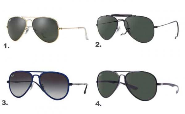óculos Ray Ban clássico
