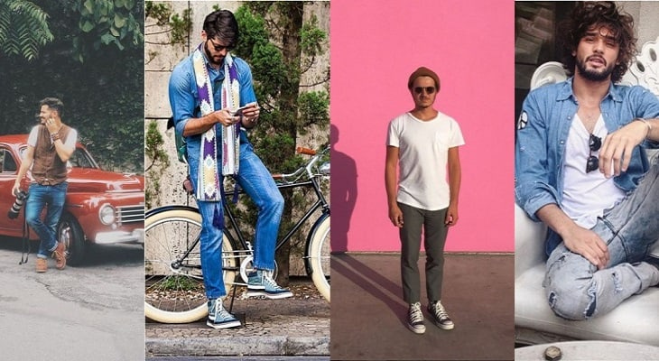 instagram de moda masculina