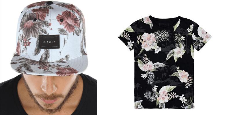 como usar camisa floral masculina