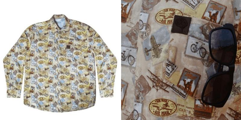 estampas vintage para camisas