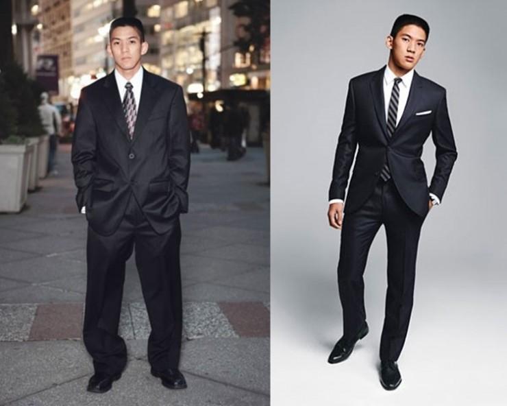 560aac4a0 Um homem elegante é um perfeccionista em termos de roupas. Assim