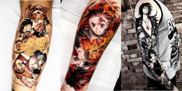 fotos de tatuagem masculinas