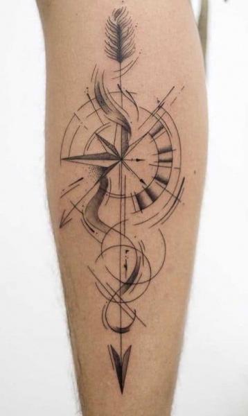 tattoo flecha