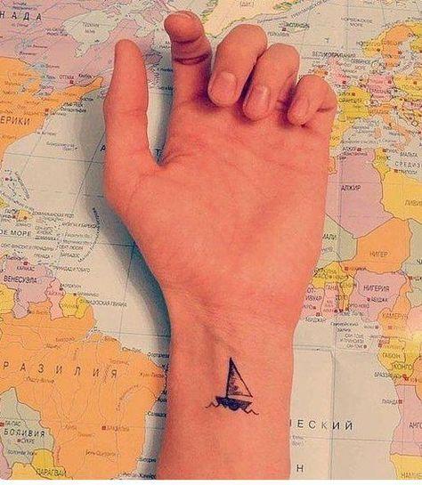 tatuagem homem viagem
