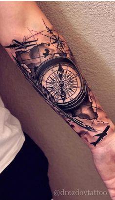tatuagem masculina criativa