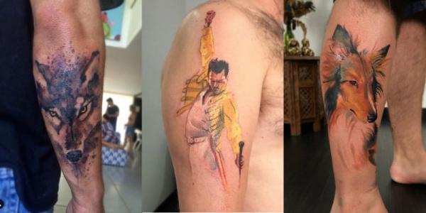tatuagens estilosas masculinas