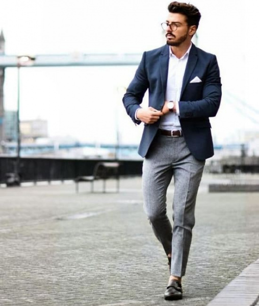 como usar terno sem gravata