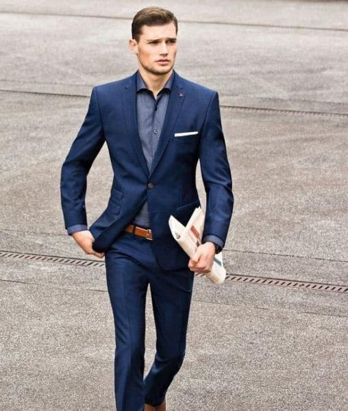 traje social sem gravata