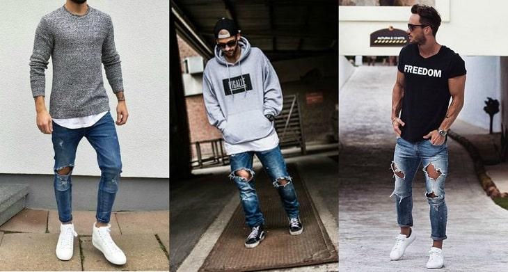 look-camisa-jeans-destroyed