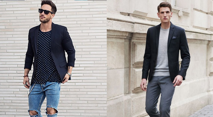 look masculino casual