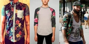 look moda floral masculina