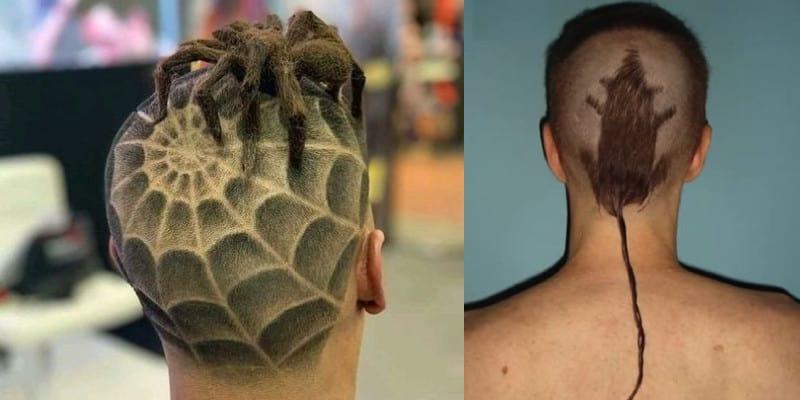 cortes de cabelo horríveis
