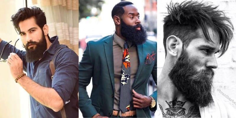 como crescer barba