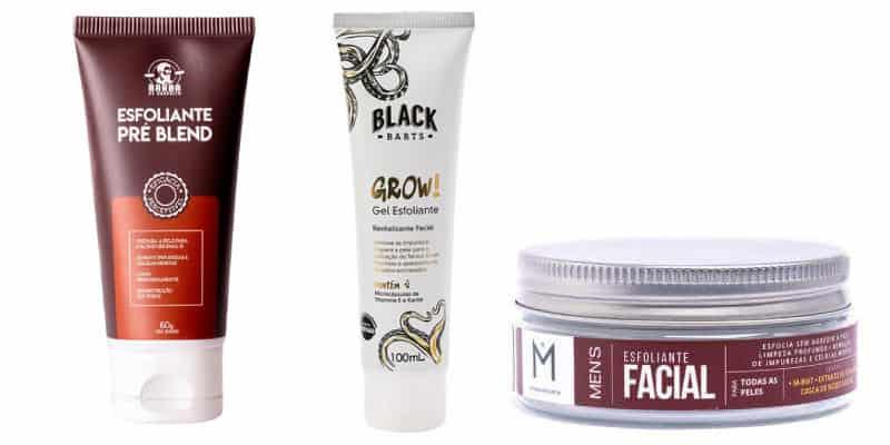 cuidados pele rosto masculino