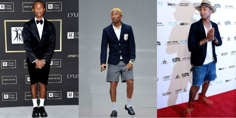 estilo de Pharrell Williams