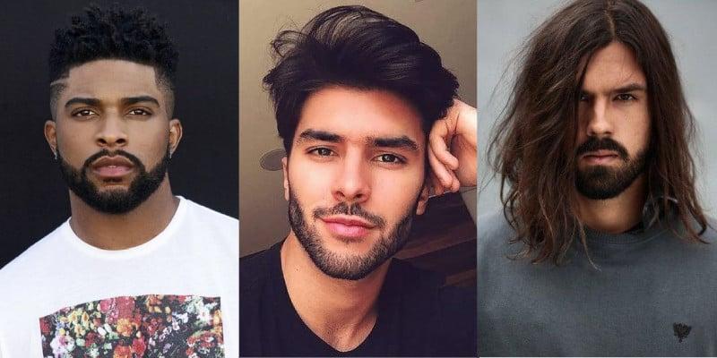 fases da barba crescendo