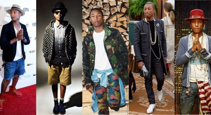 Pharrell Williams estilo