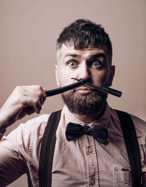 Barbear com navalha