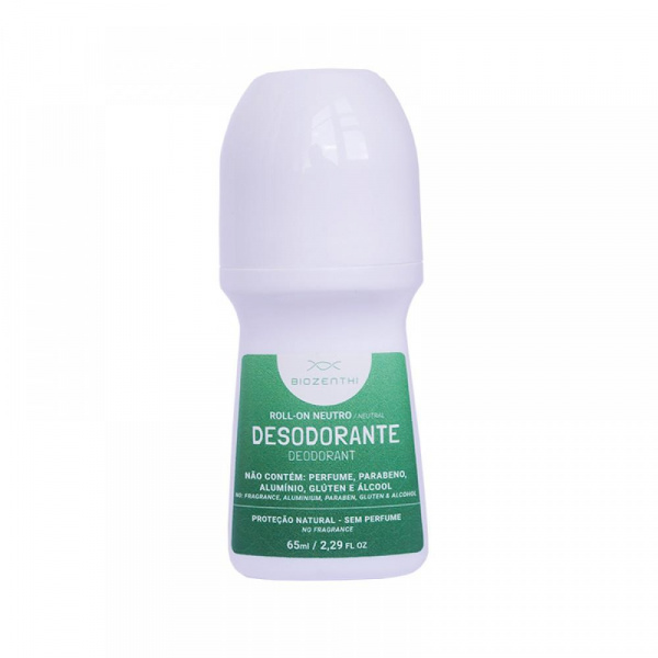 Desodorante Roll-On Biozenthi Neutro 65ml