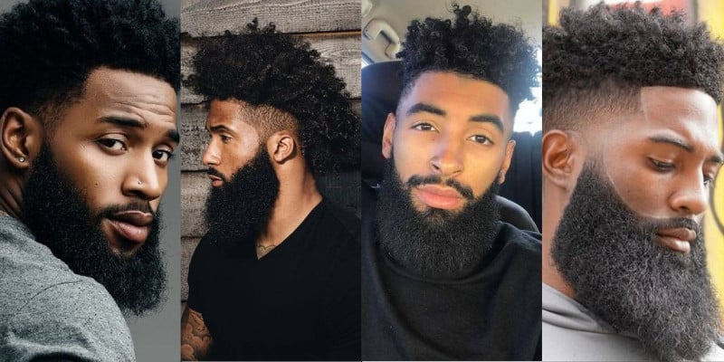 barba homem negro
