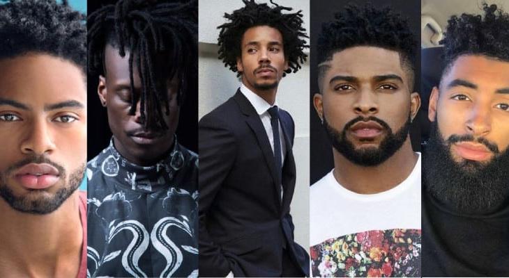 estilo de barba para pessoas negras