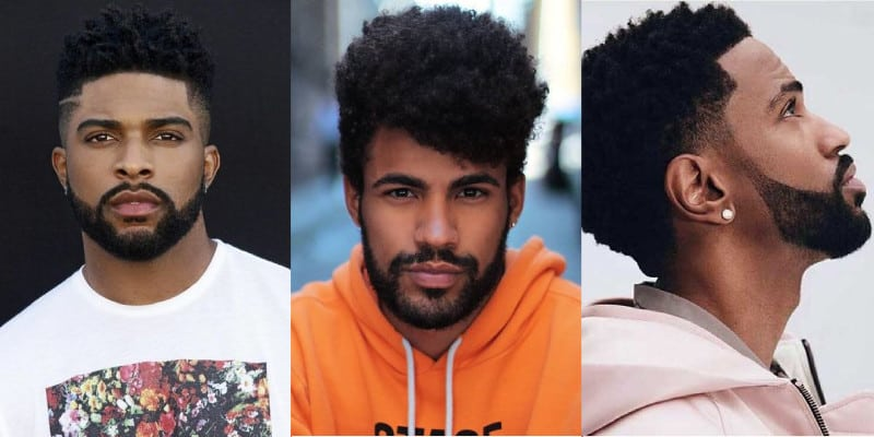 homem negro de barba