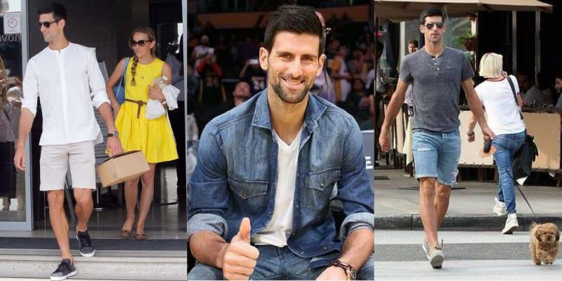 estilo Novak Djokovic