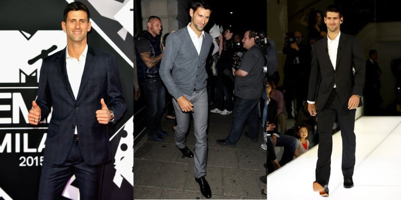visual Novak Djokovic