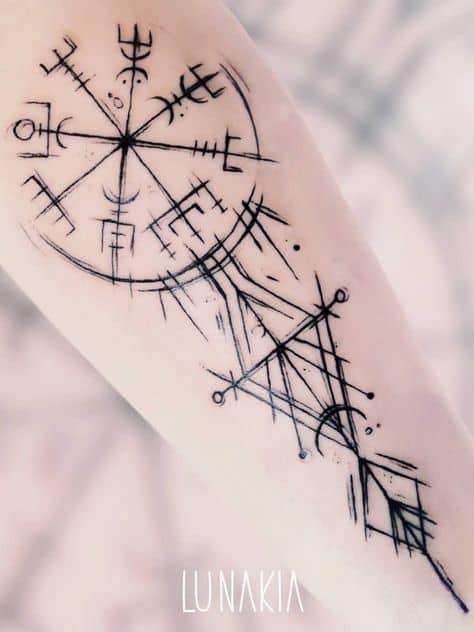 aegishjalmur elo do terror tattoo