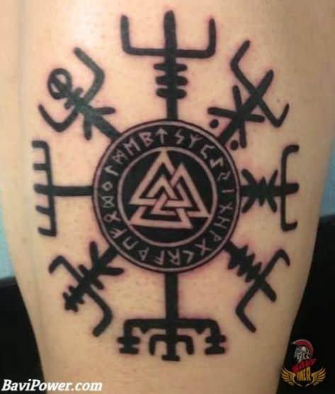 aegishjalmur tattoo viking