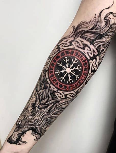aegishjalmur tatuagem