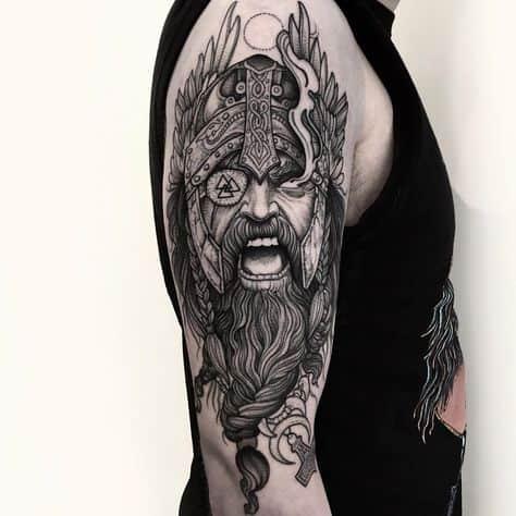 tattoo deus nórdico