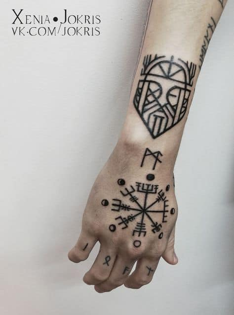 tatuagem viking elo do terror