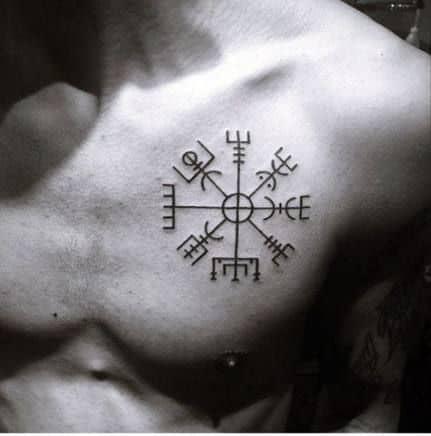 tatuagem viking pequenas