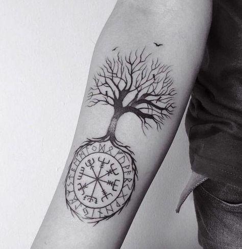 tatuagem yggdrasil significado