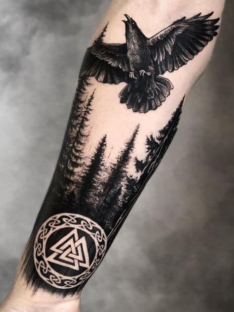 valknut tatuagem viking