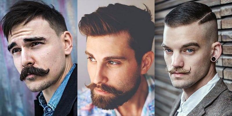 como fazer bigode handlebar moustache