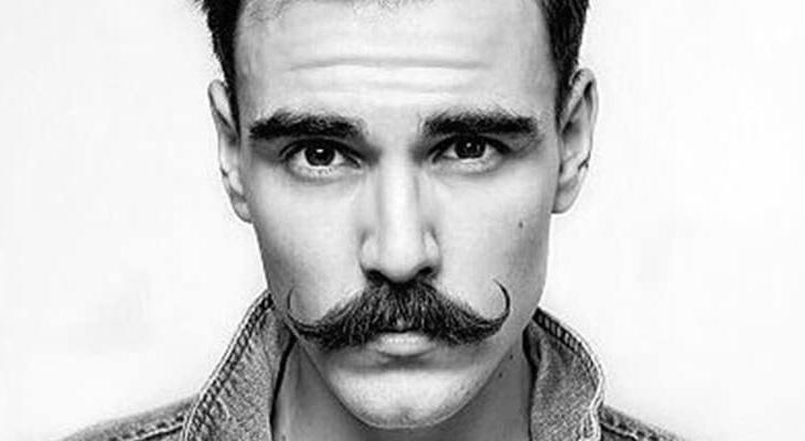 como fazer bigode vintage