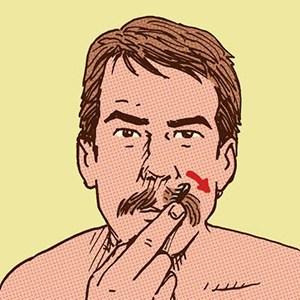 como ter bigode vintage