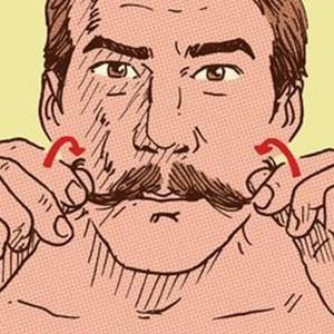 como ter um bigode vintage